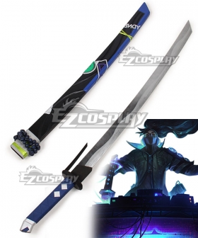 League of Legends LOL True Damage Yasuo Cosplay Weapon