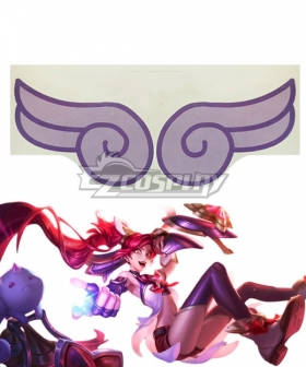 League Of Legends Star Guardian Jinx Tattoo stickers Cosplay Accessory Prop