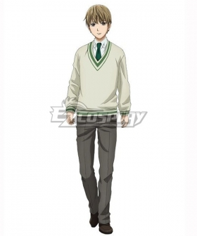 Legend of the Galactic Heroes Ginga Eiyu Densetsu Free Planetary Alliance Julian Mintz Cosplay Costume