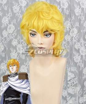 Legend Of The Galactic Heroes Reinhard Von Lohengramm Golden Cosplay Wig