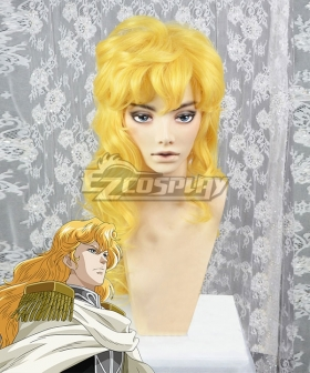 Legend of the Galactic Heroes Reinhard Von Lohengramm New Galactic Empire Golden Cosplay Wig