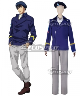 Legend of the Galactic Heroes Ginga Eiyu Densetsu Free Planetary Alliance Yang Wen Li Alex Caselnes Cosplay Costume