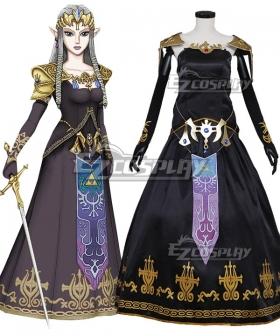 Legend of Zelda Dark Princess Zelda Cosplay Costume