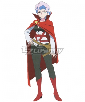 Little Witch Academia Croix Meridies Cosplay Costume