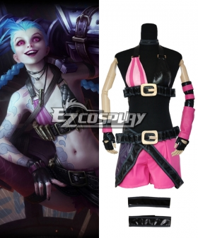 League Of Legends LOL JINX The Loose Cannon Cosplay Costume