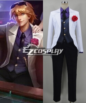 League of Legends the Prodigal Explorer Debonair Ezreal Cosplay Costume