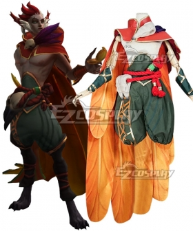 League of Legends LOL Rakan Cosplay Costume