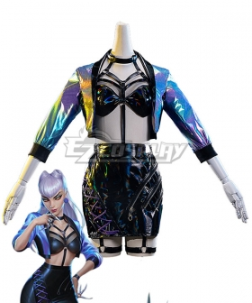 League Of Legends LOL 2020 K/DA KDA All Out Evelynn Halloween Cosplay Costume