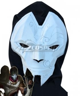 League of Legends LOL Classic Khada Jhin the Virtuoso Mask and Headgear Cosplay Accessory Prop