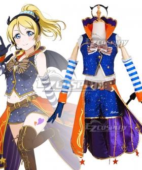 Love Live! Lovelive! Halloween Eli Ayase Pumpkin Ver. Cosplay Costume