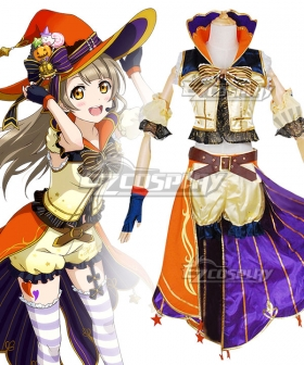 Love Live! Lovelive! Halloween Kotori Minami Pumpkin Ver. Cosplay Costume
