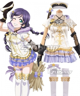 Love Live! Lovelive! Wizard Ver. Nozomi Tojo Cosplay Costume