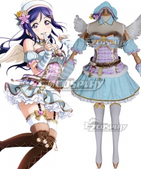 Love Live Sunshine 2018 Anime Aqours Kanan Matsuura Christmas Choir Uniform Cosplay Costume