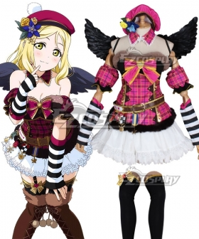 Love Live Sunshine 2018 Anime Aqours Mari Ohara Christmas Choir Uniform Cosplay Costume