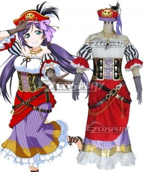 LoveLive! Pirate Nozomi Tojo Cosplay Costume