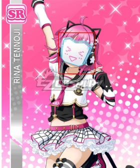 LoveLive! School Idol Festival PERFECT Dream Project ALL STARS Rina Tennoji Mask Cosplay Accessory Prop