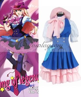 Macross Frontier Sheryl Nome Cowboy Suit Cosplay Costume