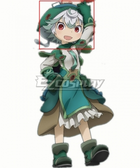 Made in Abyss Dawn of the Deep Soul 2020 Movie Prushka White Cosplay Wig