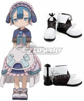 Made in Abyss Maruruku Black White Cosplay Shoes
