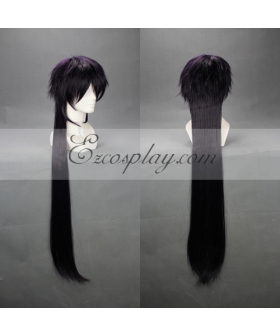 MAGI Sinbad Dark Purple Cosplay Wig-296C