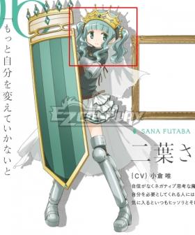 Magia Record: Puella Magi Madoka Magica Side Story Sana Futaba Green Cosplay Wig
