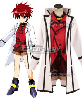 Magical Girl Lyrical Nanoha Erio Mondial Cosplay Costume