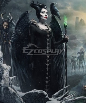 Maleficent Mistress of Evil Maleficent B Edition Cosplay Costume