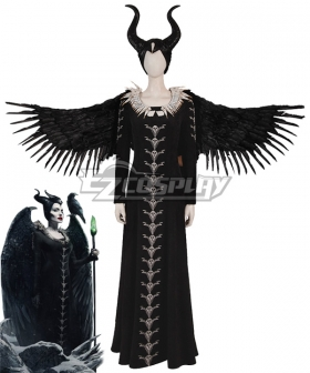 Maleficent: Mistress of Evil Maleficent Black Cosplay Costume