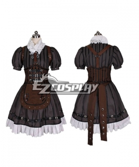 Alice: Madness Returns Steampunk Alice Cosplay Costume
