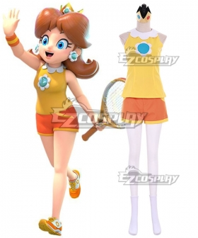 Mario Tennis Aces Princess Daisy Cosplay Costume