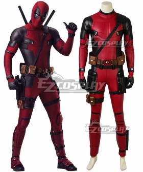Marvel 2018 Deadpool 2 Wade Wilson Cosplay Costume