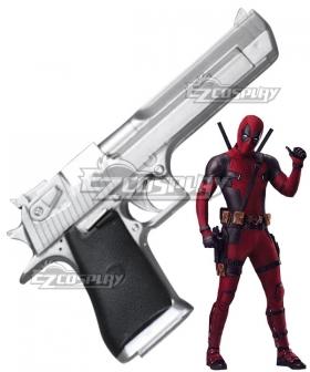 Marvel 2018 Deadpool 2 Wade Wilson Gun Cosplay Weapon Prop