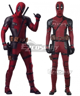 Marvel 2018 Deadpool 2 Wade Winston Wilson New Edition Cosplay Costume