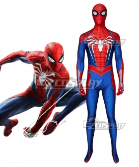 Marvel 2018 PS4 Spider-Man Spiderman Zentai Jumpsuit Cosplay Costume