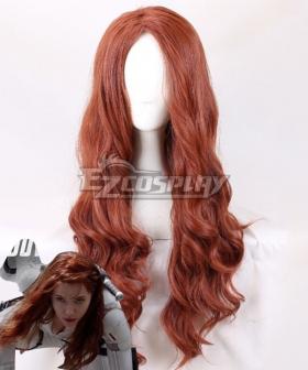 Marvel Black Widow 2021 Natasha Romanoff Brown Cosplay Wig