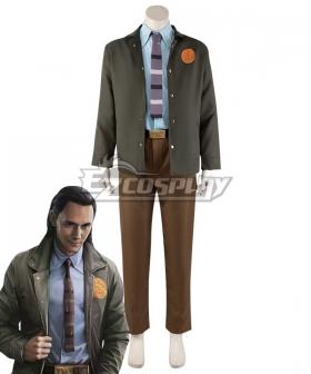 Marvel 2021 Movie Loki Cosplay Costume