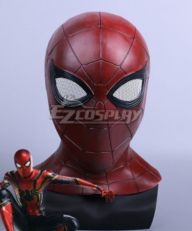 Marvel Avengers 3: Infinity War Spider Man Peter Parker Mask Cosplay Accessory Prop