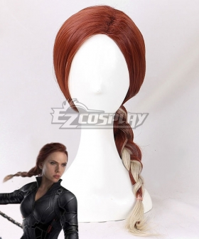 Marvel Avengers: Endgame Black Widow Natasha Romanoff Brown Cosplay Wig