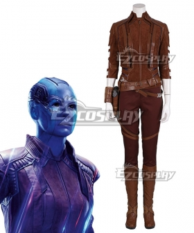 Marvel Avengers: Endgame Nebula Cosplay Costume - A Edition