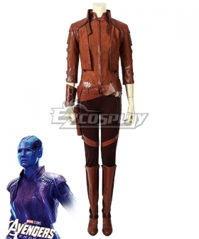 Marvel Avengers: Endgame Nebula Cosplay Costume - C Edition