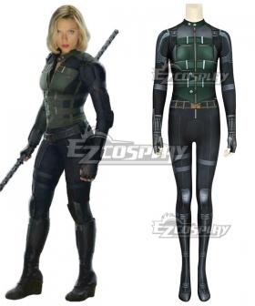 Marvel Avengers: Infinity War Black Widow Natasha Romanoff Zentai Jumpsuit Cosplay Costume