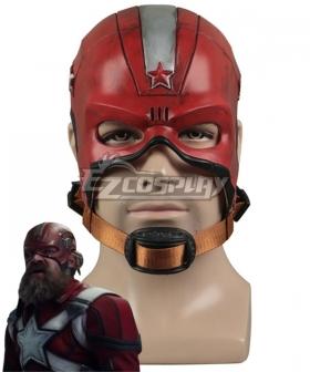 Marvel Black Widow 2021 Red Guardian Helmet Cosplay Accessory Prop