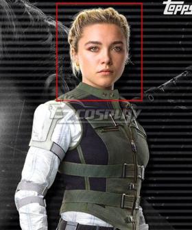 Marvel Black Widow 2021 Yelena Belova Golden Cosplay Wig