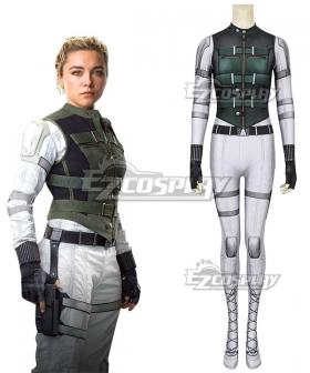 Marvel Black Widow 2021 Yelena Belova Zentai Jumpsuit Cosplay Costume