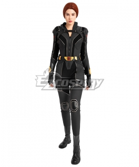 Marvel Black Widow 2021 Natasha Romanoff Cosplay Costume Black Edition