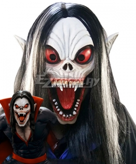 Marvel Comics Michael Morbius The Living Vampire Mask Cosplay Accessory Prop