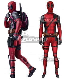 Marvel Deadpool 2 Wade Wilson Zentai Jumpsuit Cosplay Costume