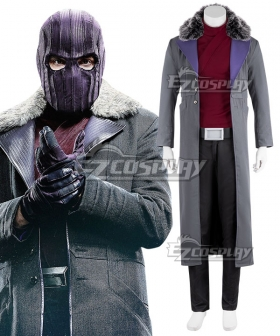 Marvel The Falcon and the Winter Soldier Baron Zemo Cosplay Costume