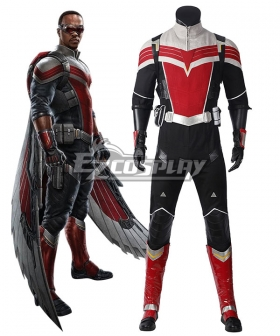 Marvel The Falcon and the Winter Soldier Sam Wilson Cosplay Costume
