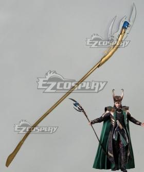 Marvel Thor 2: The Dark World Loki Wand Cosplay Weapon Prop